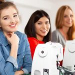 Beginners Sewing Course XL - young women learning to sew confidently