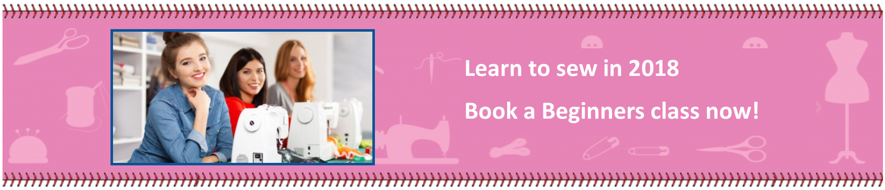 Sewing Classes & Creative Workshops