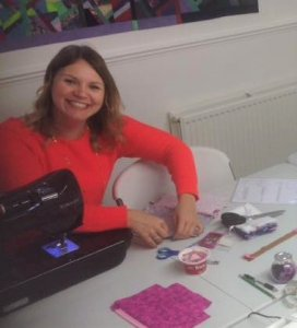 Sandra's loving the Beginners Sewing Course - Sewing Tuition