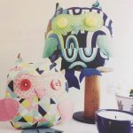 Owl Toys - using colourful print fabric, felt and buttons