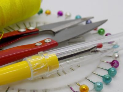 Improve your dressmaking by using a selction of tools and equipment