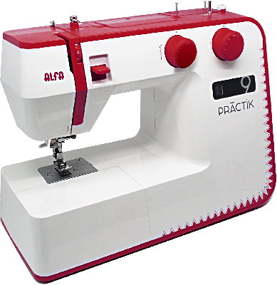 alfa practik 9 sewing machine